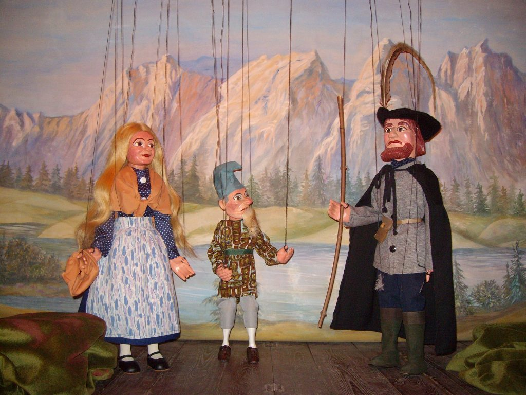 Marionettentheater Berggeist Rübezahl
